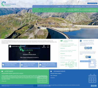 HYDROPOWER EUROPE: Homepage