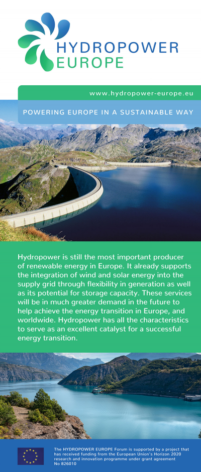 HYDROPOWER EUROPE: Popup