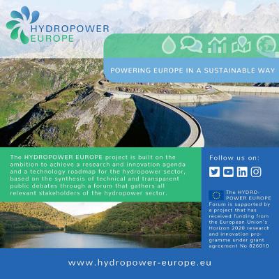 HYDROPOWER EUROPE: Flyer