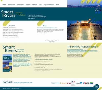 Smart Rivers 2019: Homepage