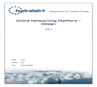 Hydralab+: Report Template
