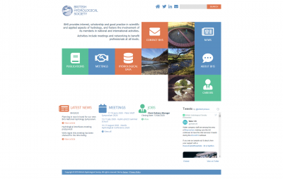 British Hydrological Society: Homepage